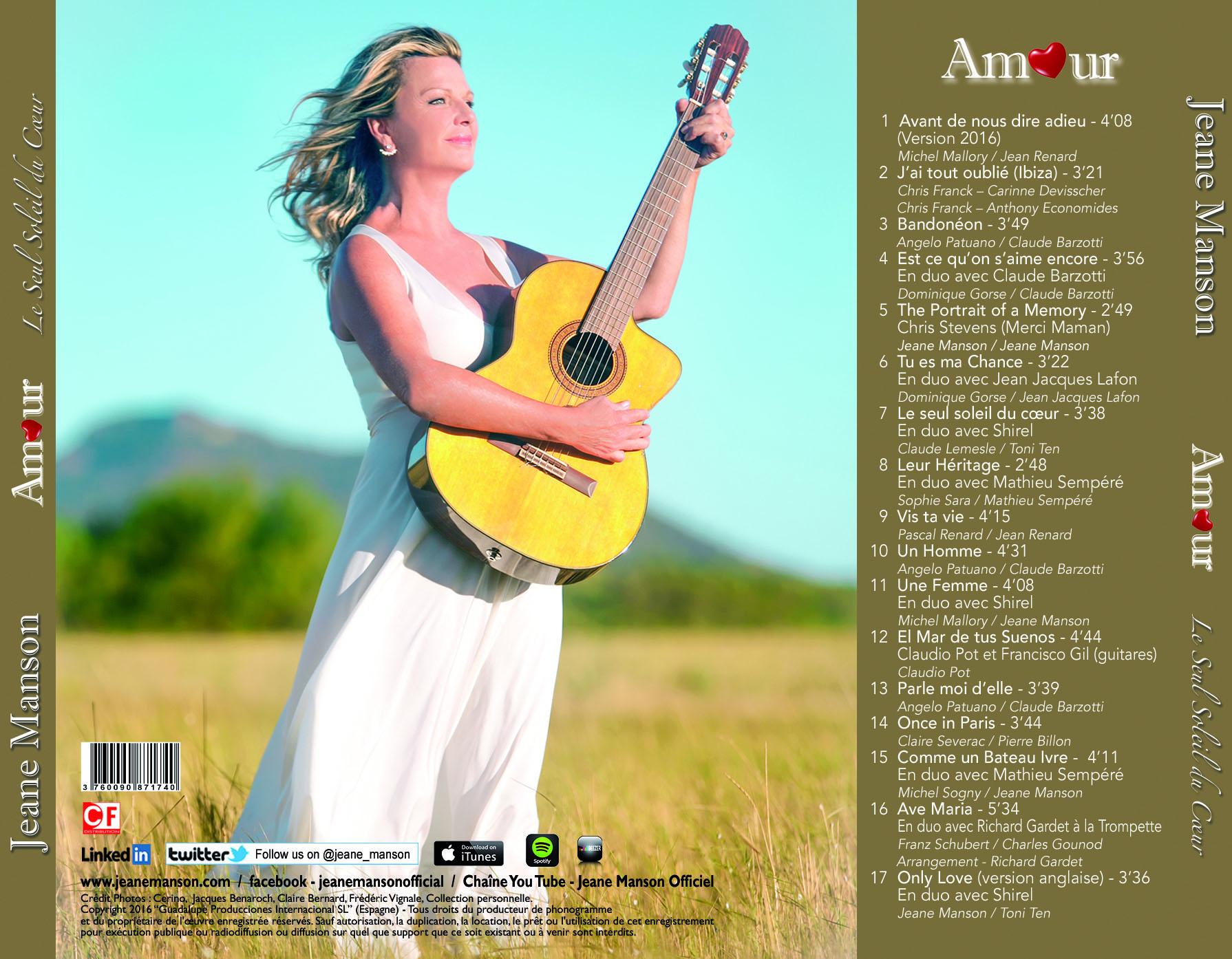 Verso 2 cd amour pour site