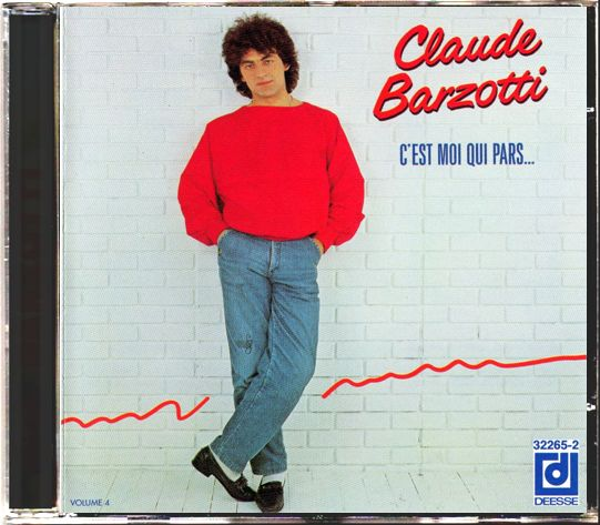 CD album C'est moi qui pars