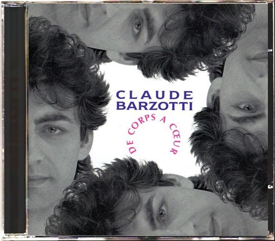 CD album De corps à coeur