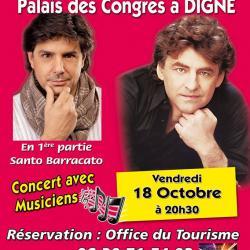 concert Digne les bains le vendredi 18 octobre 2013