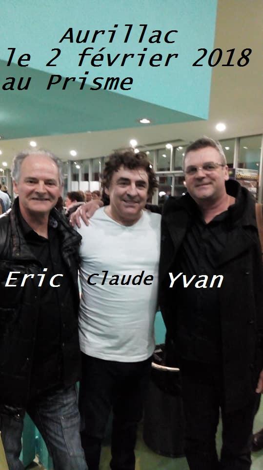 Claude Yvan et moi