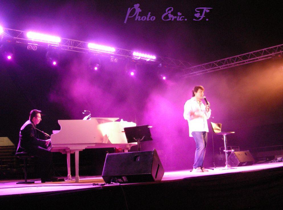 concert au Cap d'Agde le 27 juillet 2013