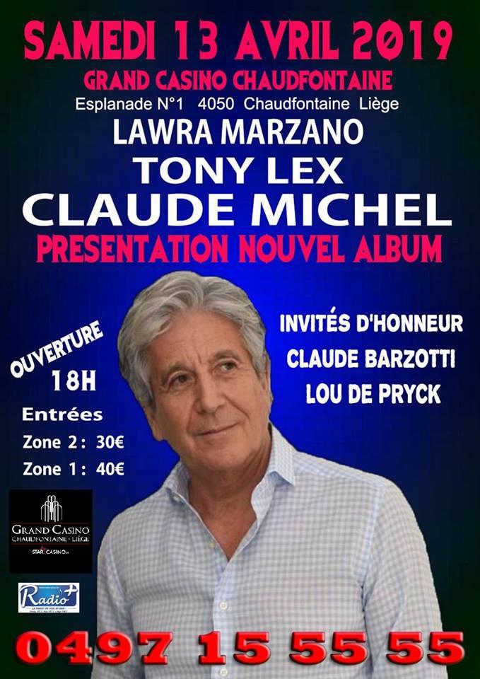 claude Michel en concert