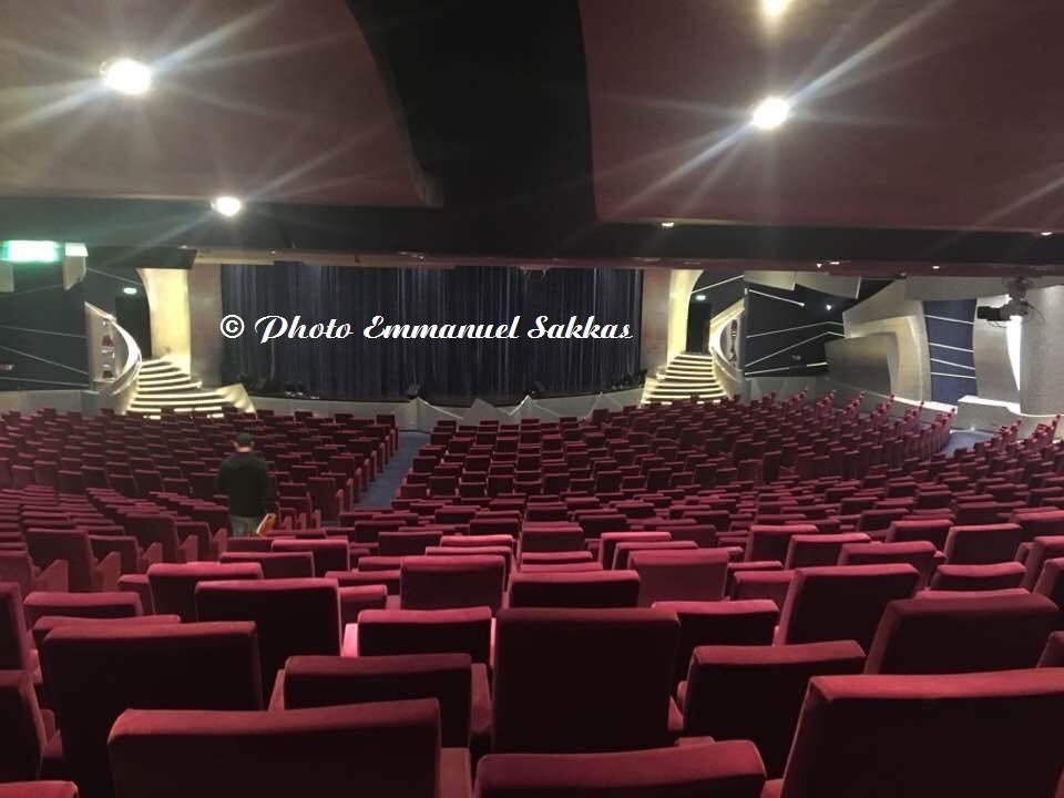 La salle de spectacle (photo emmanuel Sakkas)