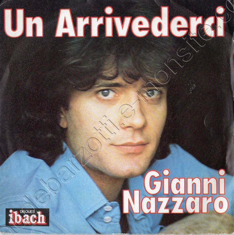 45 T face B La solitude chanté par Gianni Nazzaro 1978
