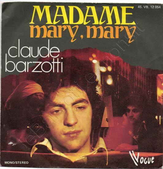 45 t Madame / Mary mary