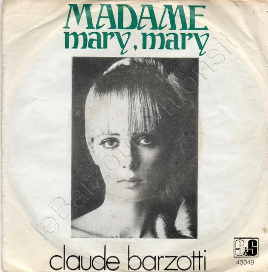 Madame (première version)/ Mary Mary (turquie)