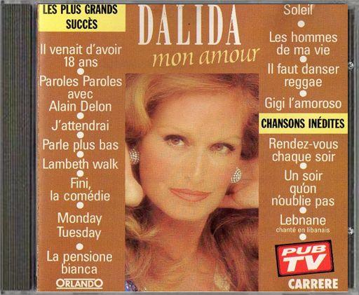 """CD Dalida avec """"La pensione bianca"""""""