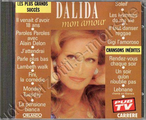 CD Best of Dalida