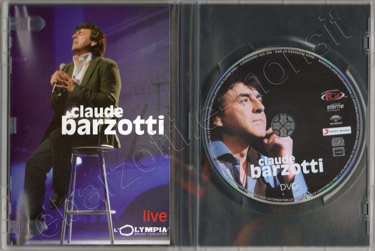 Livret et DVD