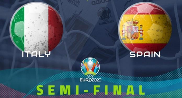 Euro 2020 italy spain
