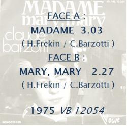 Madame / Mary mary