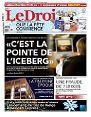 Le Droit du 3 février 2012 page 25 (3/4 de page + 1 photo NB ) Claude Barzotti revient comme s'il n'était jamais parti