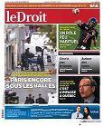 Le Droit du 19 novembre 2015 page 32 (1/2 page NB) Pause nostalgie avec Claude Barzotti