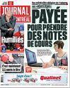 Le Journal de Montréal du 4 mai 2015 page 45 (1/4 de page + 1 photo ) Claude Michel et Claude Barzotti sur scène au Québec