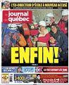 Le Journal de Québec du 13 octobre 2010 pages 64 et 65 (1 page et demi) Le retour de nos idoles Les années passent la musique reste Claude Barzotti sera du spectacle