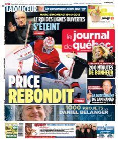 Le Journal de Québec du 4 mai 2013 pages 34 et 35 (2 pages ) Le festival de l'émotion nos idoles en coulisses