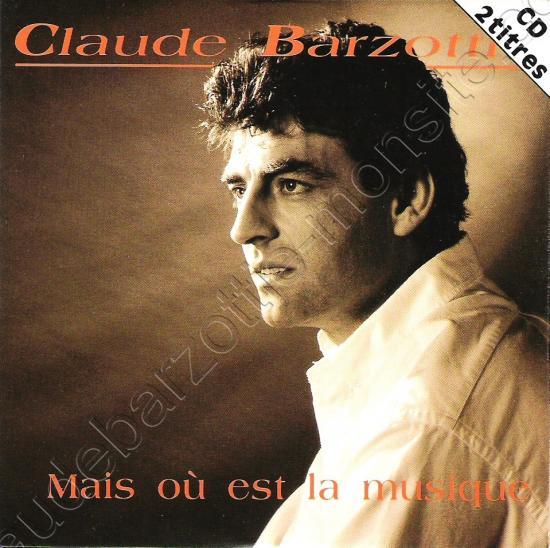 CD 2 titres Mais où est la musique ? / Sarah BMG France 1993