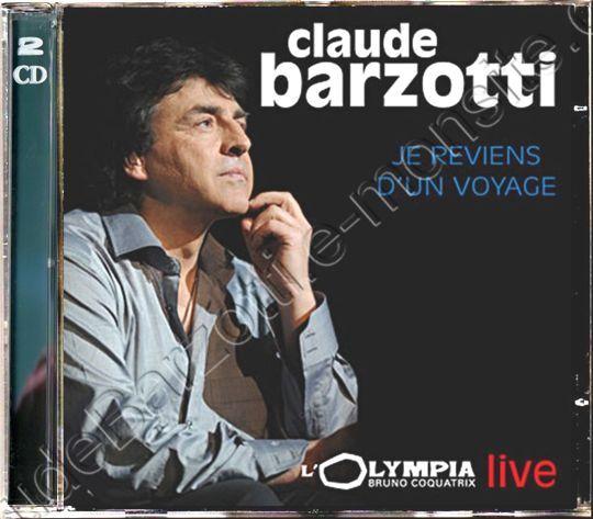 """Double CD en concert à l'olympia 2009 """"Je reviens d'un voyage"""""""