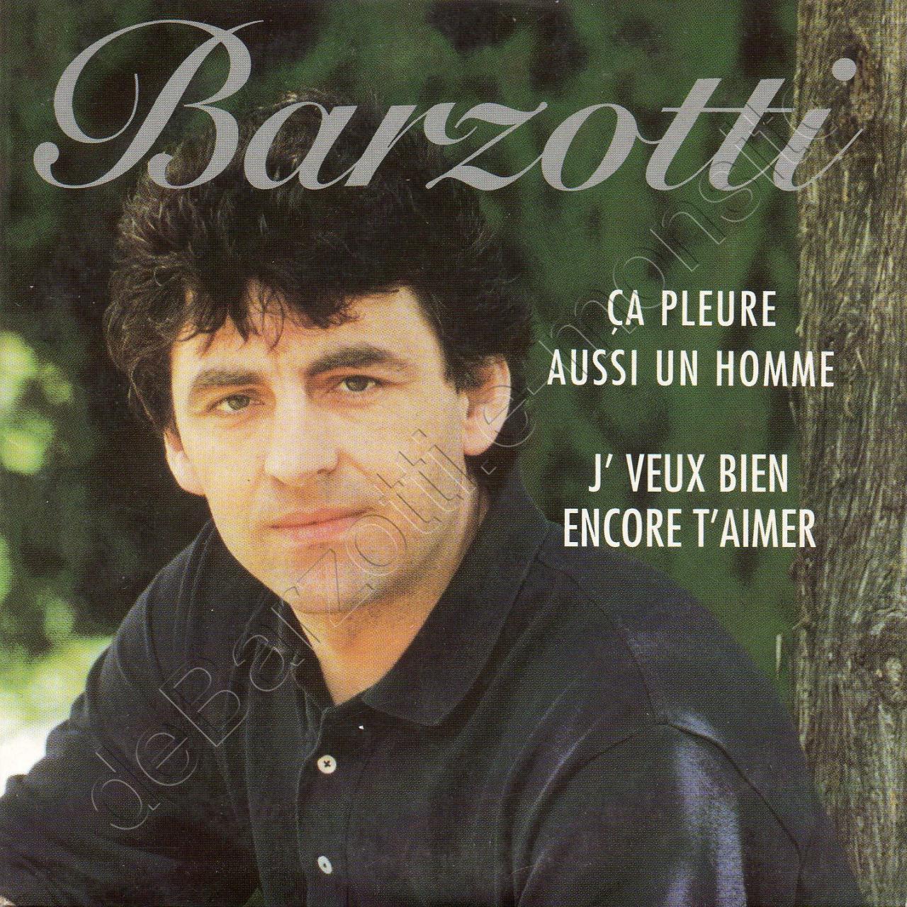 CD 2 titres CA PLEURE AUSSI UN HOMME / J'VEUX BIEN ENCORE T'AIMER