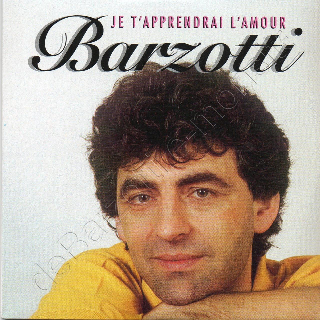 CD 2 titres JE T'APPRENDRAI L'AMOUR / PASSION BLANCHE version 2