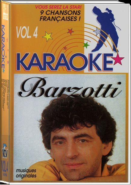 K7 vidéo VHS karaoké volume 4